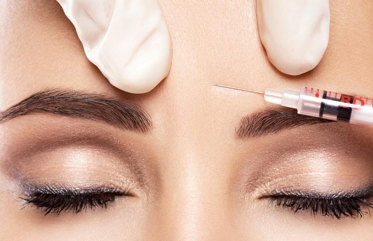 Stirnfalten Behandlung